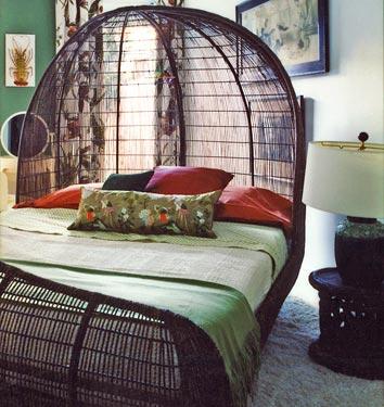 Dormitorios artesania del mimbre - Cabeceros de mimbre ...